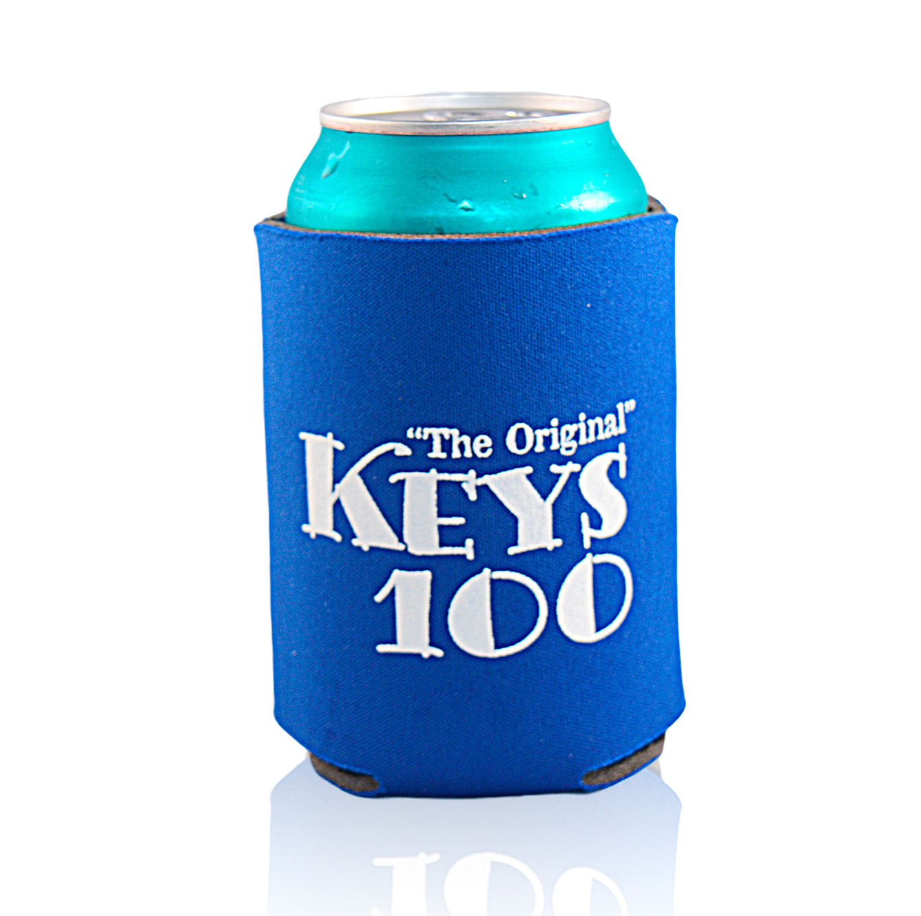 Koozie blue cropped